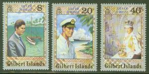 Gilbert Islands Scott  293-5 Prince Charles 1970 visit