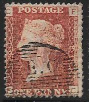 Great Britain 33 Used - Plate 81 Victoria