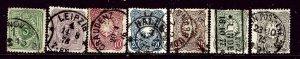 Germany 29-35 Used 1875-77 Used complete set