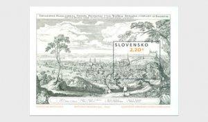 Stamps.Slovakia 2021- Art - Matthaus Merian (1593 – 1650) - Miniature Sheet.