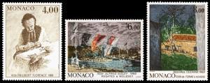 Monaco Scott 1689-1691 (1989) Mint NH VF Complete Set B