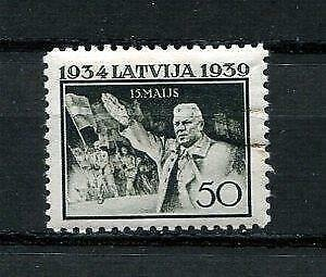Latvia 1939 Mi 278 MH Pres. Ulmanis 9668