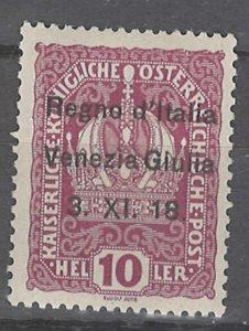 COLLECTION LOT # 2458 AUSTRIA  #N4 MH 1918 CV=$25