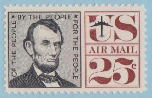 C59 Abraham Lincoln MNH Single