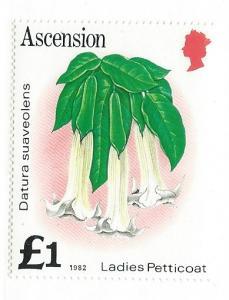 Ascension #287  (MNH)  CV $2.40