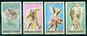 Senegal #C63-C66 MNH Mexico City Olympics CV$5 [140562]