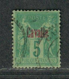 Fr. Office Turkey Cavalle Sc#1 Used/VF, Cv. $21