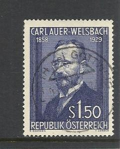 Austria #595 comp used cv $2.75