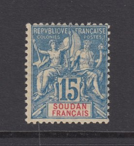 French Sudan, Scott 9 (Yvert 8), MLH