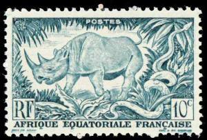 Fr Equ Africa SC 166 - Rhino - 1947