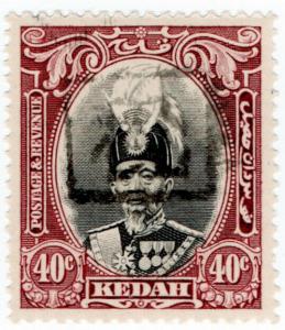 (I.B) Malaya States Revenue : Kedah Duty 40c (Japanese Occupation)