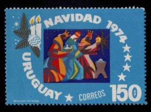 Uruguay Scott 907 MNH** Christmas 1974 stamp
