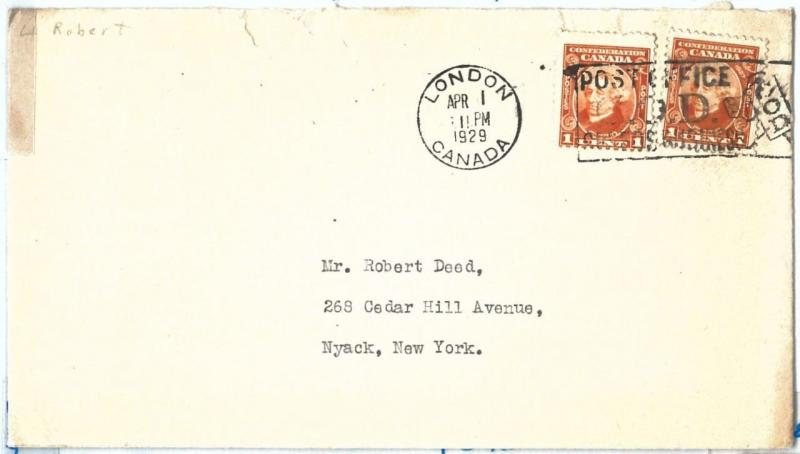 69077 - CANADA - POSTAL HISTORY -   COVER to USA 1929