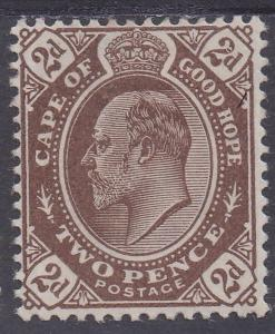 CAPE OF GOOD HOPE 1902 KEVII 2D