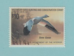 US FEDERAL DUCK STAMP RW 55 VF NH SCOTT $17.50 FACE $10 AT 90% OF FACE
