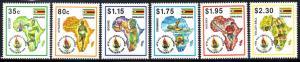 Zimbabwe - 1995 All-Africa Games Set MNH**SG 908-913