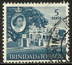 Trinidad and Tobago 1960 Scott# 91 Used