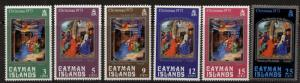 Cayman Islands 314-9 MNH Christmas, Nativity, Adoration of the Magi