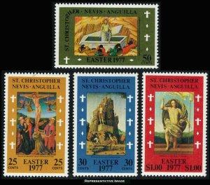 Saint Kitts-Nevis Scott 335-338 Mint never hinged.