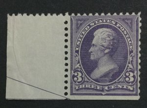 MOMEN: US #253 MINT OG **NH** POST OFFICE FRESH #31117