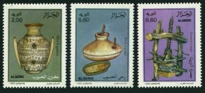 Algeria 983-985,MNH.Michel 1089-1091. Traditional Grain Processing,1993.
