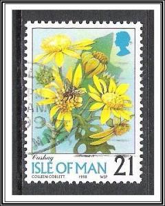 Isle of Man #767 Flowers Used