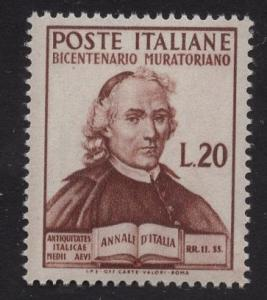 Italy   #540  1950  MNH  Muratori