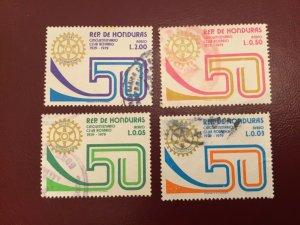 ICOLLECTZONE Honduras  C672-75 VF used