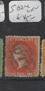 ST VINCENT (P2805B)  QV  1/-  SG 24        VFU