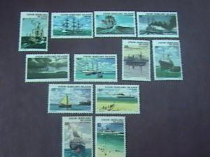 COCOS ISLANDS # 20-31-MINT/NEVER HINGED---COMPLETE SET----SHIPS----1976