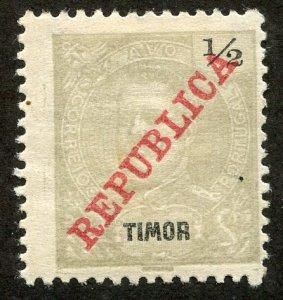 Timor, Scott #106, Unused, Hinged
