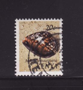 Kenya 39 U Sea Shells, Humpback Cowrie (B)