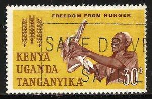 Kenya, Uganda & Tanzania 1963 Scott# 137 Used