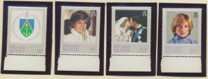 Pitcairn Islands Stamps Scott #213 To 216, Mint Never Hinged - Free U.S. Ship...