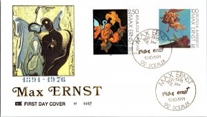 Germany Post-1950, Worldwide First Day Cover, Art