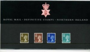 STAMP STATION PERTH Great Britain #Nothern Ire. Definitive Presentation Pack MNH