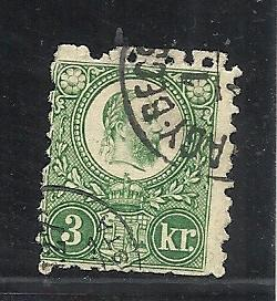 Hungary #8 used cv $25.00