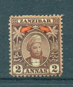 Zanzibar sc# 58 used cat value $2.25