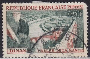 France 1011 USED 1961 Rance Valley & Dinan