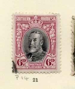 Southern Rhodesia 1930s Early Issue Fine Used 6d. NW-170465