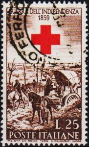 Italy. 1959 25L S.G.1002 Fine Used