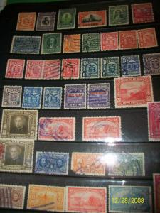 Panama stamp collection