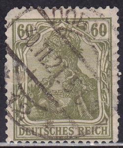 Germany 126 USED 1920 Deutsches Reich 60Pf