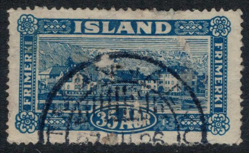 Iceland #147  CV $12.00 some surface abrasions