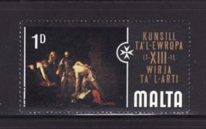 Malta 409 MNH Art, Painting (A)