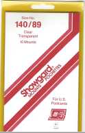 140/89 Showgard Mounts - Clear