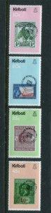 Kiribati MNH 341-4 Stamps On Stamps