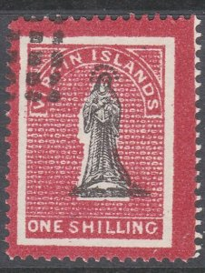 BR VIRGIN ISLANDS  An old forgery of a classic stamp .......................C866