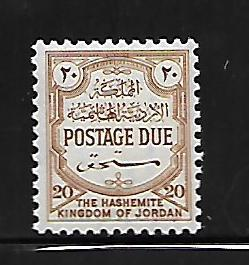 JORDAN, J63, MINT HINGED, POSTAGE DUE