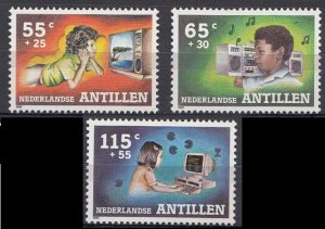 1988 Netherlands Antilles 646-648 Children's Day 4,50 €